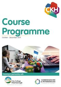 CKH course programme front page