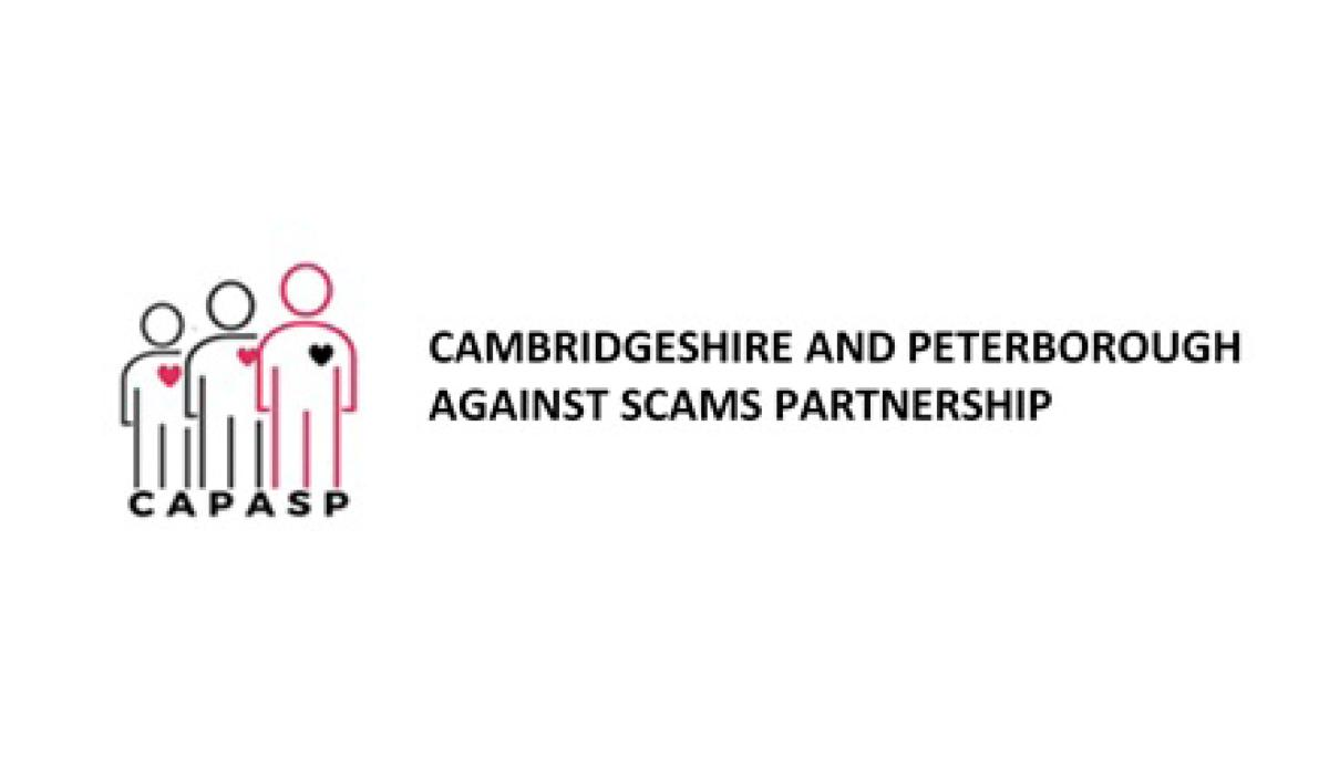 Cambridgeshire and Peterborough Against Scams Partnership logo
