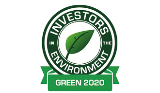 Picture shows the iiE Green award logo awarded to CKH