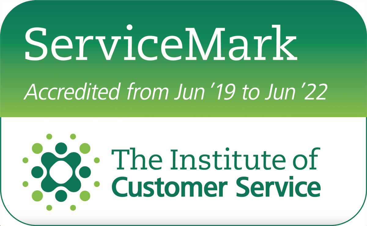 Institute of customer service logo
